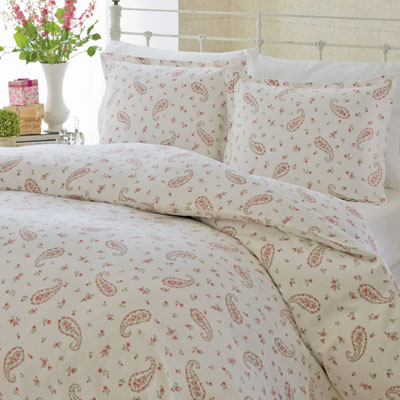 Laura Ashley Bristol Paisley Flannel Duvet
