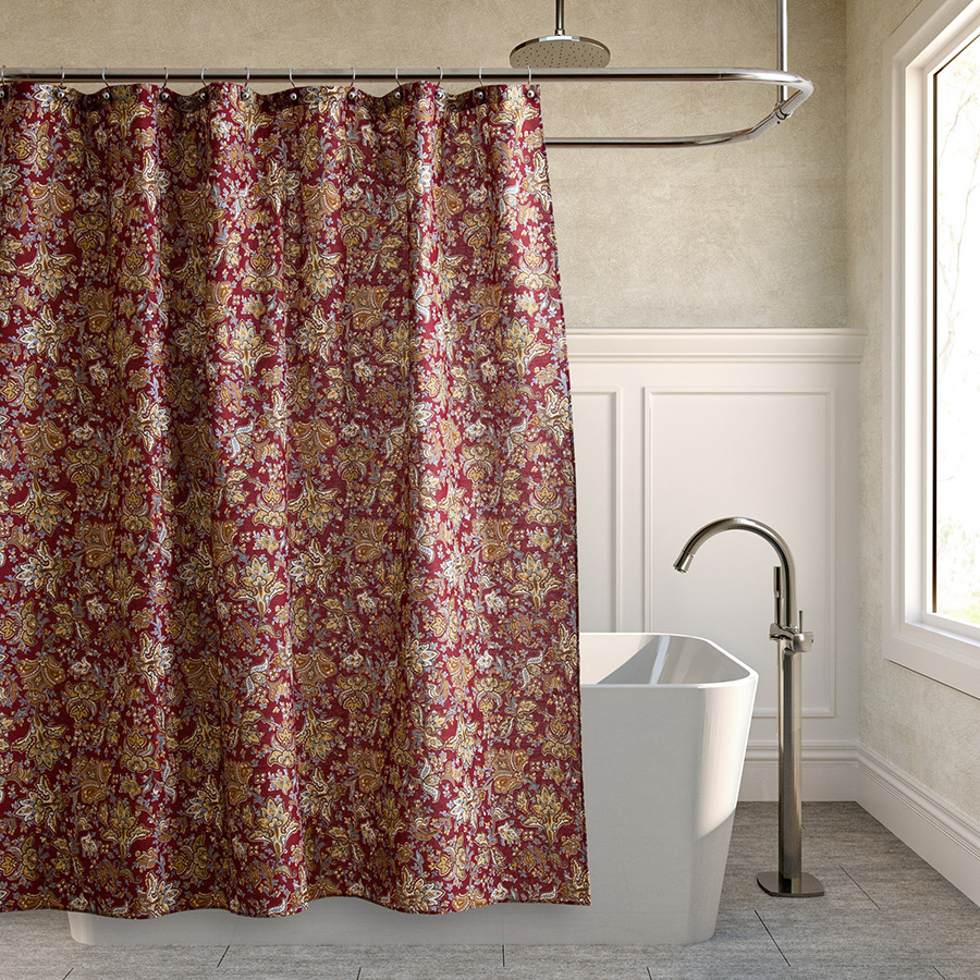 Laura Ashley Brittany Shower Curtain From Beddingstyle Com