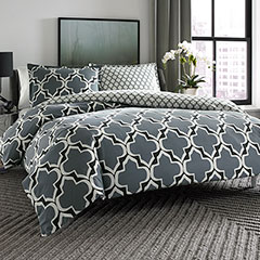 City Scene Brodie Reversible Comforter & Duvet Set
