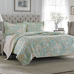 Laura Ashley Brompton Quilt Set