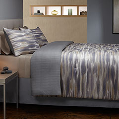Brushed Stripe Comforter & Duvet Set