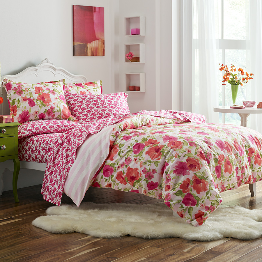 Full Queen Duvet Set Poppy Fritz Buffy