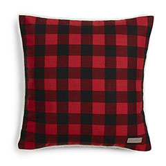 Eddie Bauer Cabin Plaid Red Decorative Pillow