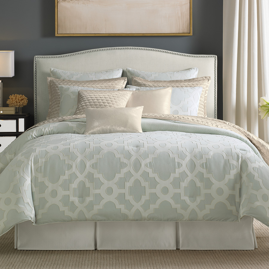 candice olson cachet comforter set from