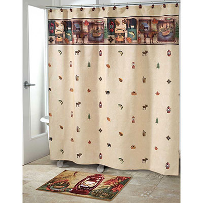 Avanti Camping Trip Shower Curtain