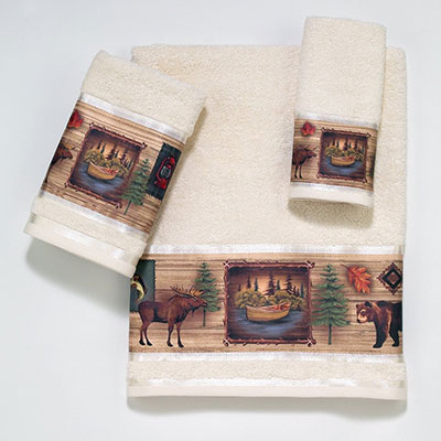 Avanti Camping Trip Decorative Towels