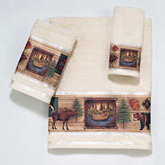 Camping Trip Decorative Towels