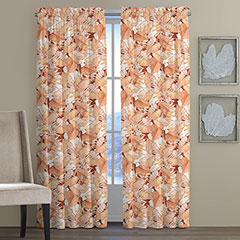 Tommy Bahama Canopy Way Canyon Fog Window Drapes