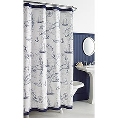Poppy & Fritz Cape Island Shower Curtain