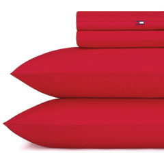 Cardinal Red Solid Sheet Set