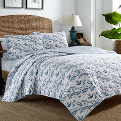 Tommy Bahama Caribbean Sea Quilt Set