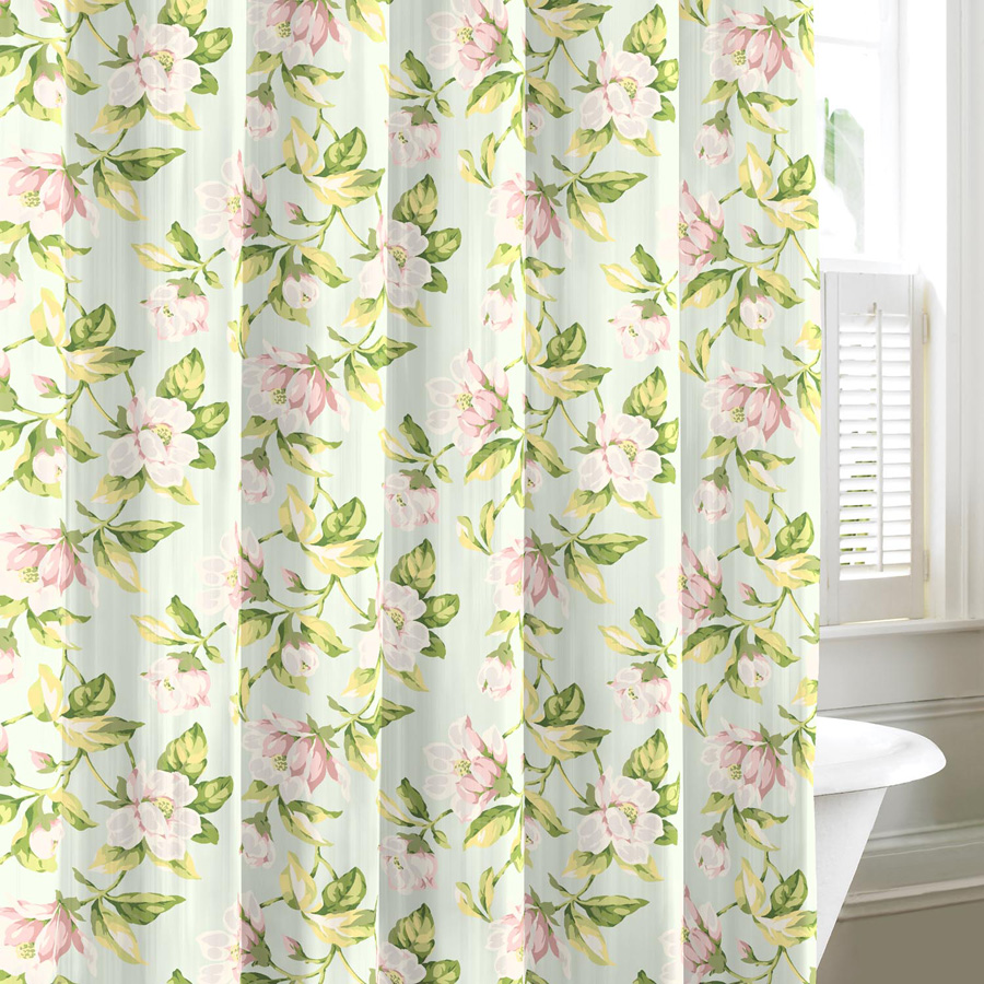 laura ashley carlisle shower curtain from. Black Bedroom Furniture Sets. Home Design Ideas