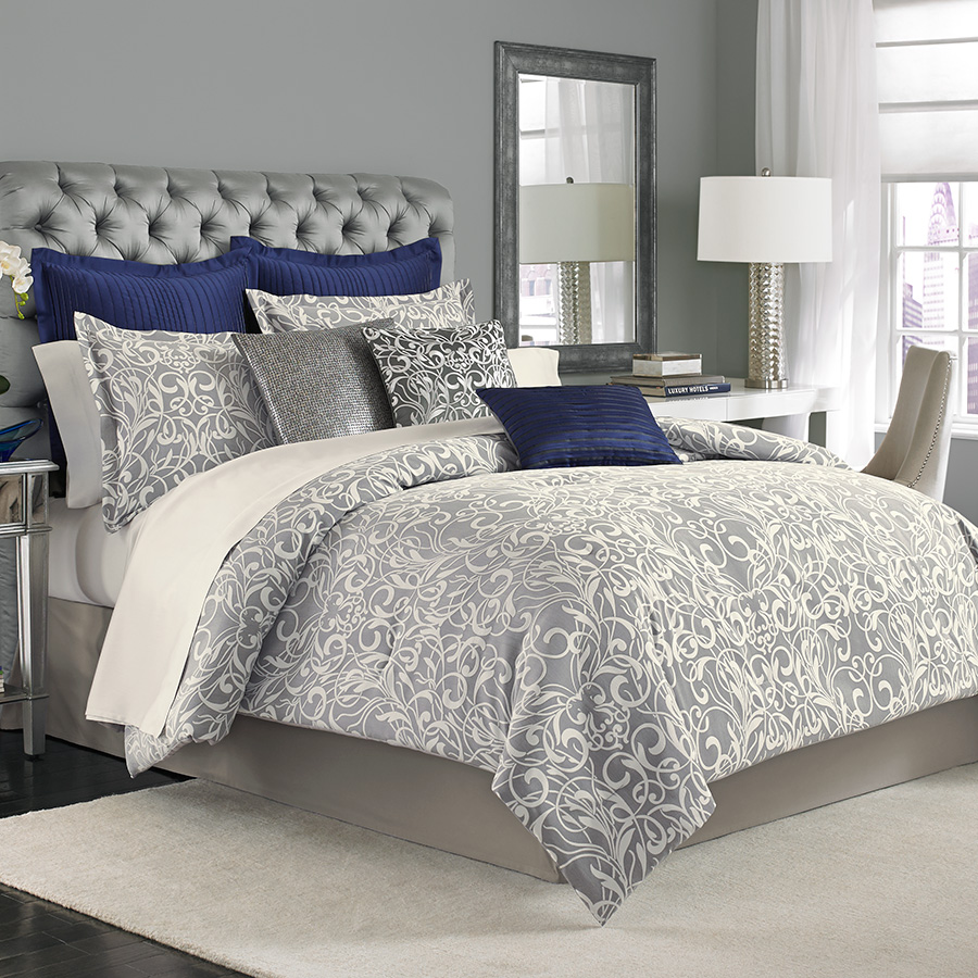 Manor hill casablanca complete bed set from - Complete bedroom sets with mattress ...