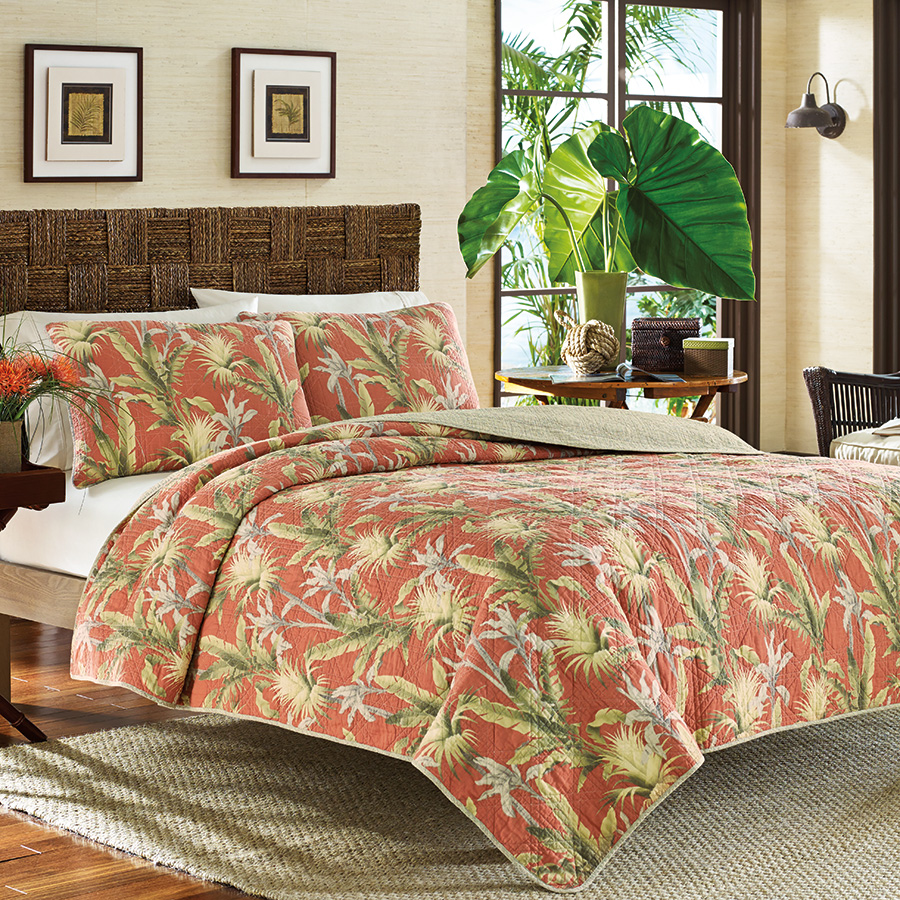 Tommy bahama catalina quilt from Tommy bahama bedding