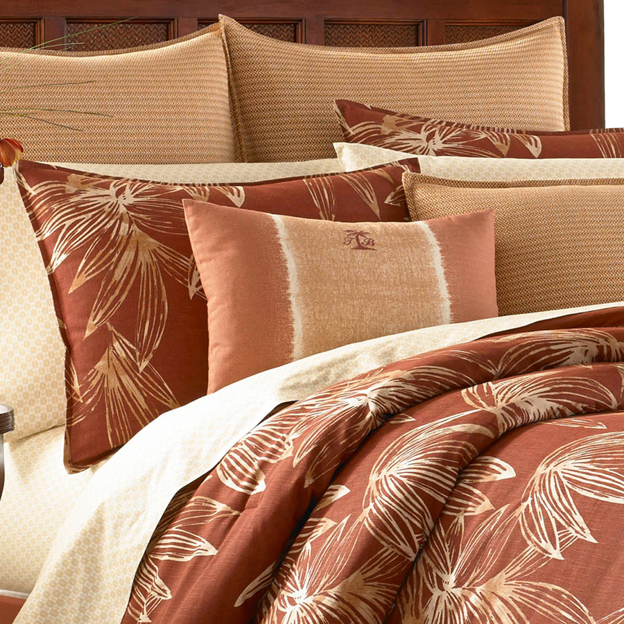 Tommy Bahama Cayo Coco Comforter And Duvet Set From