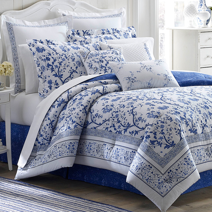 Laura ashley charlotte comforter set from - Drap housse king size ...