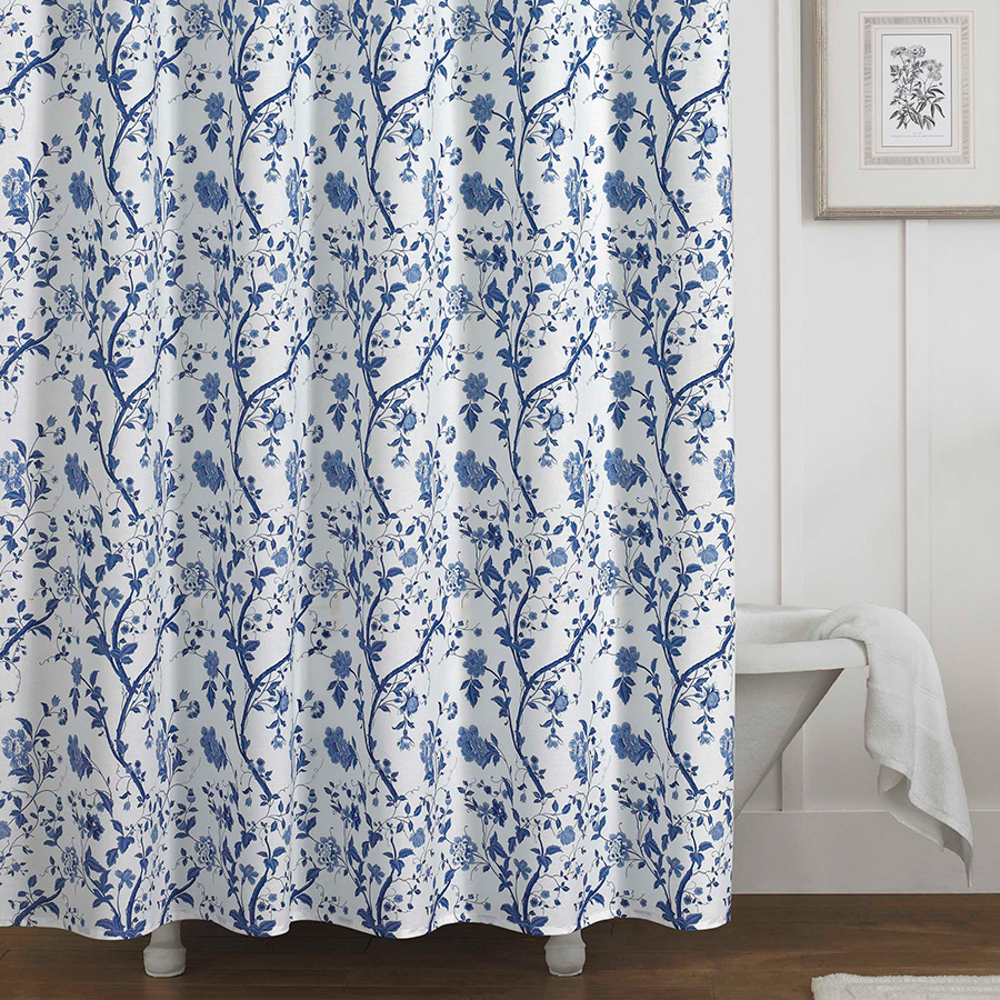 Laura Ashley Charlotte Shower Curtain From Beddingstyle
