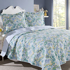 Laura Ashley Chelsea Quilt Set