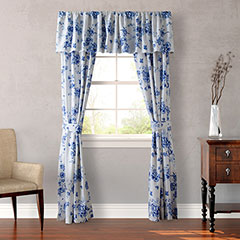 Wedgwood China Blue Window Treatment