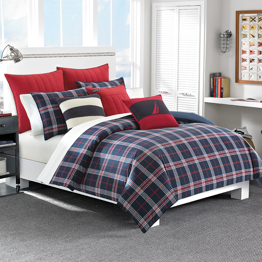 Full Queen Comforter Set Nautica Clearbrook