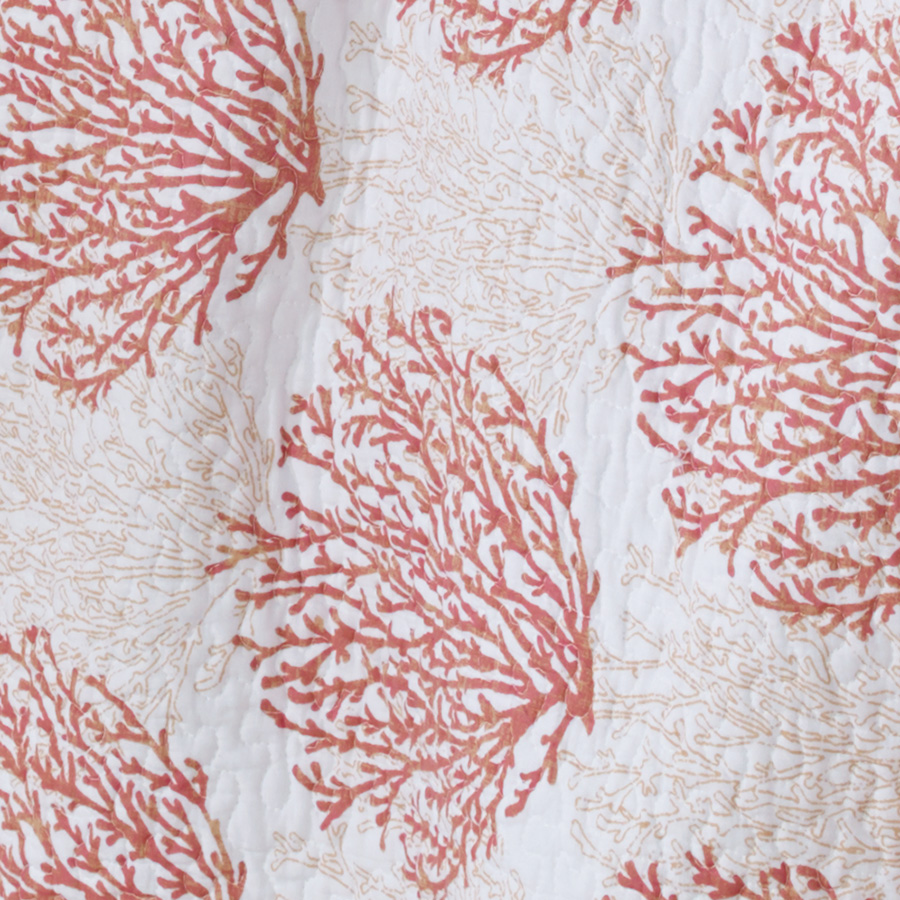 laura ashley coral coast coral quilt set from. Black Bedroom Furniture Sets. Home Design Ideas