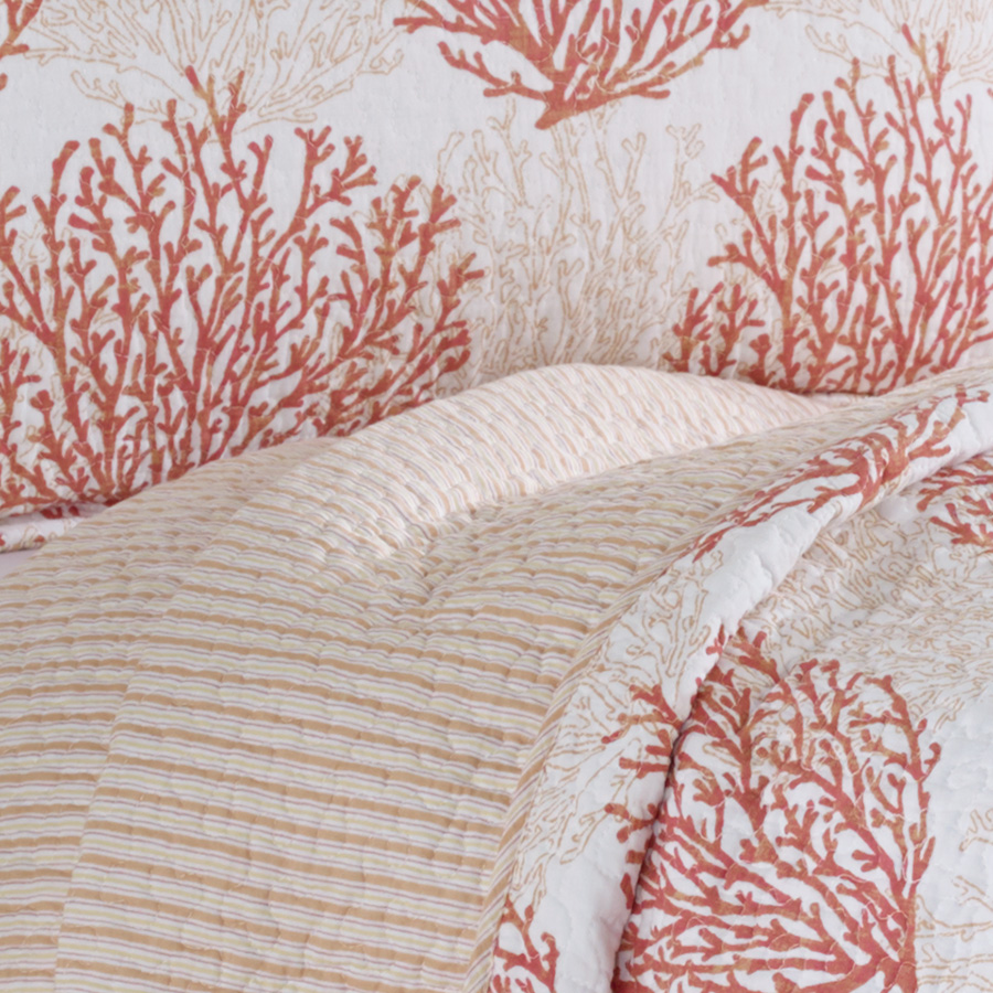 Gallery For Coral Quilt