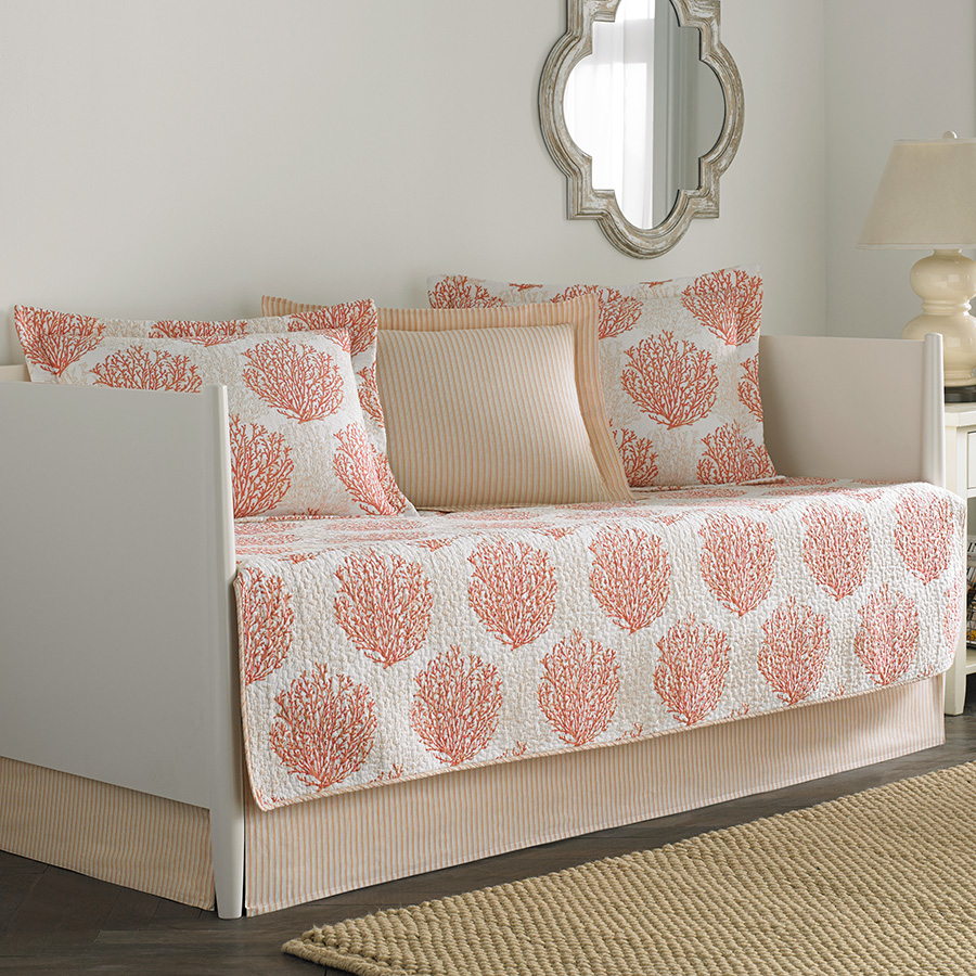 Daybed Set Laura Ashley Coral Coast