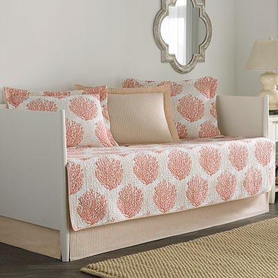 Laura Ashley Coral Coast Daybed Set