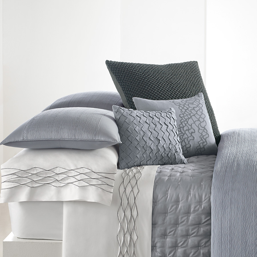 Vera Wang Corrugated Texture Duvet Cover From Beddingstyle Com