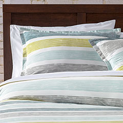 City Scene Koza Green Comforter & Duvet Set