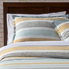 City Scene Koza Gray Comforter & Duvet Set