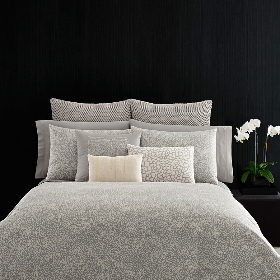 Vera Wang Crochet Lace Duvet Cover From Beddingstyle Com