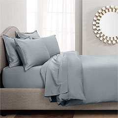 Dusty Blue Sateen Cotton Duvet & Sheet Sets