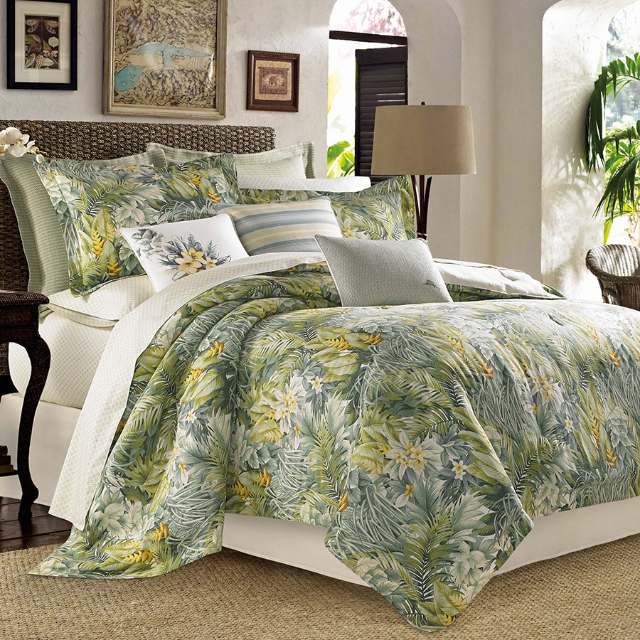 Tommy Bahama Cuba Cabana Comforter And Duvet Set From