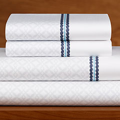 Casa Mia Cuerda White Sheet Set