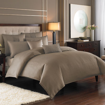 Nicole Miller Currents Driftwood Duvet Cover