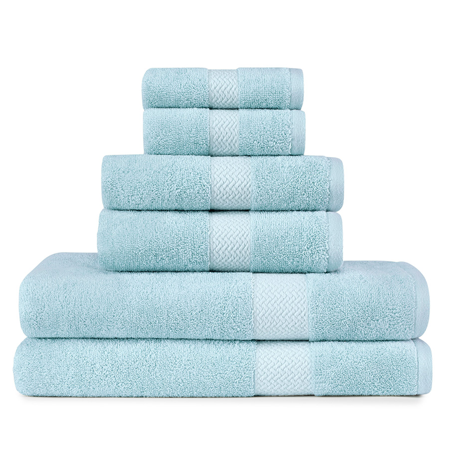 Tommy Bahama Cypress Bay Bay Blue Towel Set From