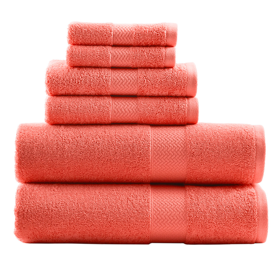 Towel Set Tommy Bahama Cypress Bay Deep Coral