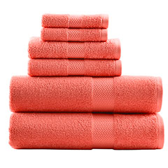 Tommy Bahama Cypress Bay Deep Coral Towel Set