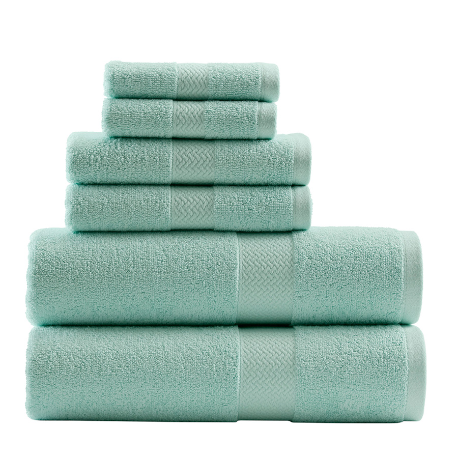 Tommy Bahama Cypress Bay Iced Turquoise Towel Set From