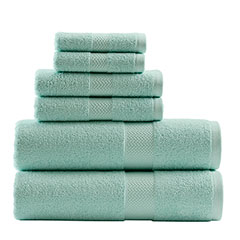 Tommy Bahama Cypress Bay Iced Turquoise Towel Set