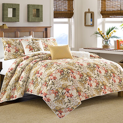 Tommy Bahama Daintree Quilt Set From Beddingstyle Com