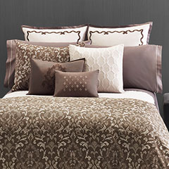 Damask Taupe Duvet Set