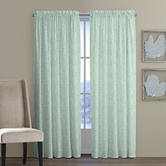 Tommy Bahama Damask Tropical Window Treatment
