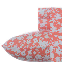 Teen Vogue Dancing Daisies Flannel Sheet Set