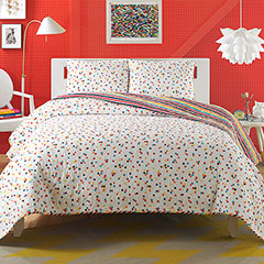 Teen Vogue Ditsy Dot Quilt Set