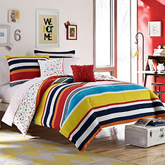 Teen Vogue Dots and Dashes Comforter Set