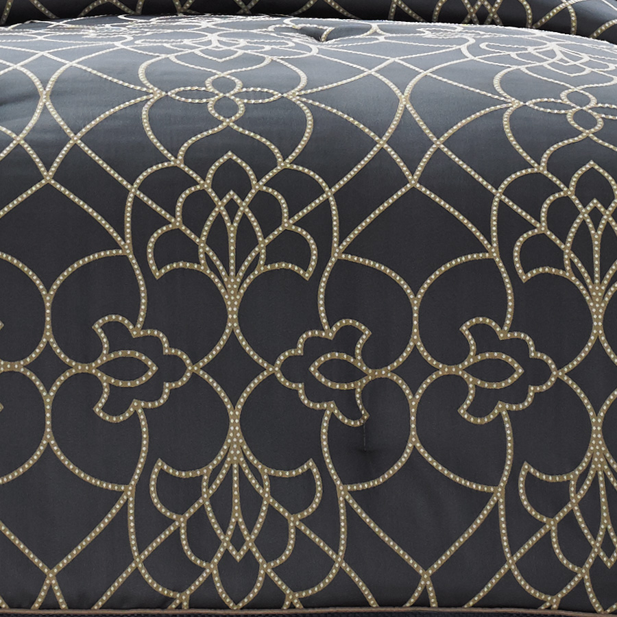 Candice Olson Dotted Pirouette Comforter Set From