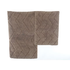 Driftwood Chevron Bath Rug Set