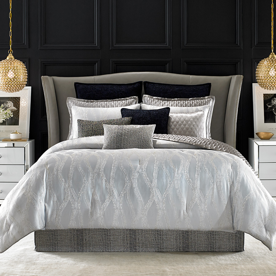 Candice olson drizzle comforter set from - Bedroom sheets and comforter sets ...